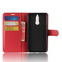 Чехол книжка для Huawei Mate 10 Lite Красный