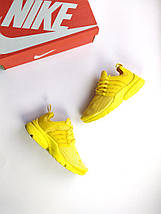 Женские кроссовки Nike air presto Yellow, фото 3