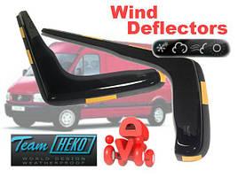 Дефлекторы окон (ветровики)  Renault MASTER/MASCOT 1999-2010 2шт (Heko)