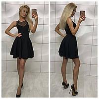 """Женская модное платье """"Сетка"""""""