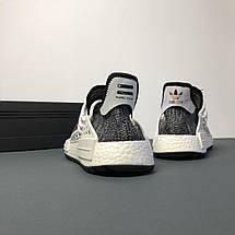 Мужские кроссовки Adidas Human Race NMD x Pharrell Williams «Oreo», фото 3