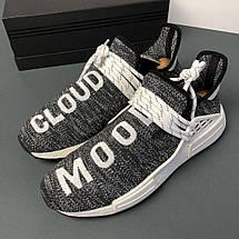 Мужские кроссовки Adidas Human Race NMD x Pharrell Williams «Oreo», фото 2