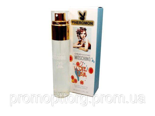 Мини-парфюм женский Moschino I Love Love pheromon (45 мл)
