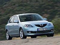 Порог передний левый и правый на Mazda 3 (Мазда 3) хэтчбек 2004-2009