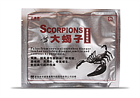 """Пластырь противоревматический """"Scorpions"""" (усиленный обезболивающий)"""