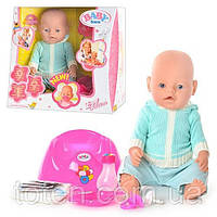 Пупс кукла Baby Born Бейби Борн BB 8001-D (Зима) Маленькая Ляля новорожденный с аксессуарами