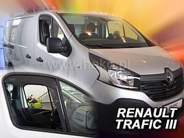 Дефлекторы окон (ветровики)  Renault Trafic 2014 -> FIAT TALANTO /OPEL VIVARO II 2шт (Heko)