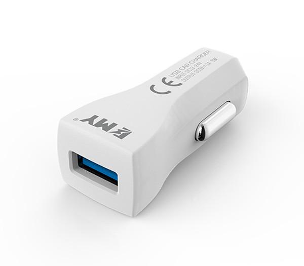 Автомобильное зарядное устройство EMY автозарядка для телефона, автомо