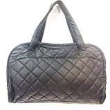 Стеганные сумки оптом Nike (черн+синий)27*42, фото 2