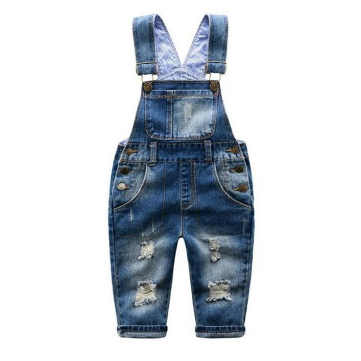 Комбинезон джинсовый Уютный 120