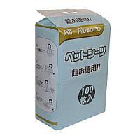 Пеленки для собак All-Absorb Regular Training Pads 44х60см / 100штук Японский стиль