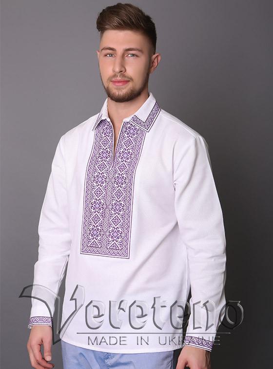 Чоловіча вишиванка вишита хрестиком. Натуральна тканина - Інтернет-магазин  оригінальних вишиванок та заготовок для b5049c9a1e5a7