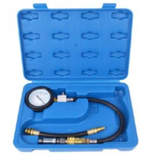 Компрессометр для бензиновых двигателей (0-21bar)4 пр. в кейсе.