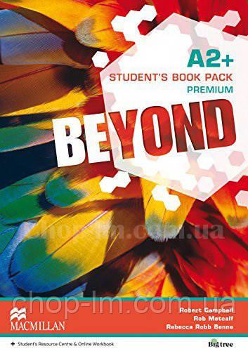 Beyond A2+ Student's Book Premium Pack (Учебник по английскому языку, с онлайн ресурсом, уровень A2+)