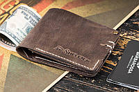 Мужской кошелек mod.Harriz коричневый, фото 1