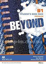 Beyond B1 Student's Book Premium Pack (Учебник по английскому языку, с онлайн ресурсом, уровень B1)