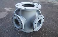 Подставка крестообразная ППКФ Ду-200х200х100х100 мм (сталь)