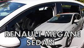Дефлекторы окон (ветровики)  RENAULT Megane IV Sedan od 2017(HEKO)