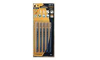 Набор пильных полотен для электролобзика T-SET 4 (5 шт. - T127D HCS, T111C HCS, T144D HCS, T118A HCS, T119BO H