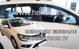Дефлекторы окон (ветровики)  RENAULT Megane IV Combi/Grandtour 5d od 2016r(HEKO)