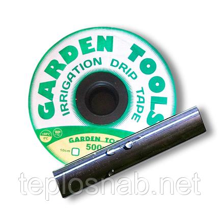 Лента капельного полива Garden 1000м/10 см. 6 mills (щелевая), фото 2