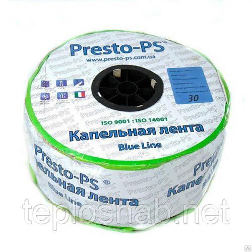 Лента для капельного полива Presto-PS Blue Line 1000м/10см щелевая(Италия)