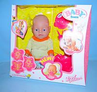 Пупс кукла Baby Born Бейби Борн BB 8001 F (Зима) Маленькая Ляля новорожденный с аксессуарами