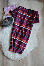 Новое платье в полоску с открытыми плечами New Look, фото 3