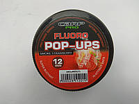 Бойлы Carp pro Two Tone Fluoro POP-UPS 12мм Клубника + специи, фото 1