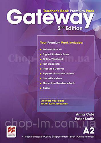 Gateway 2nd/Second Edition A2 Teacher's Book Premium Pack (Edition for Ukraine) / Книга для учителя