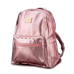 Жіночий рюкзак (рожевий)