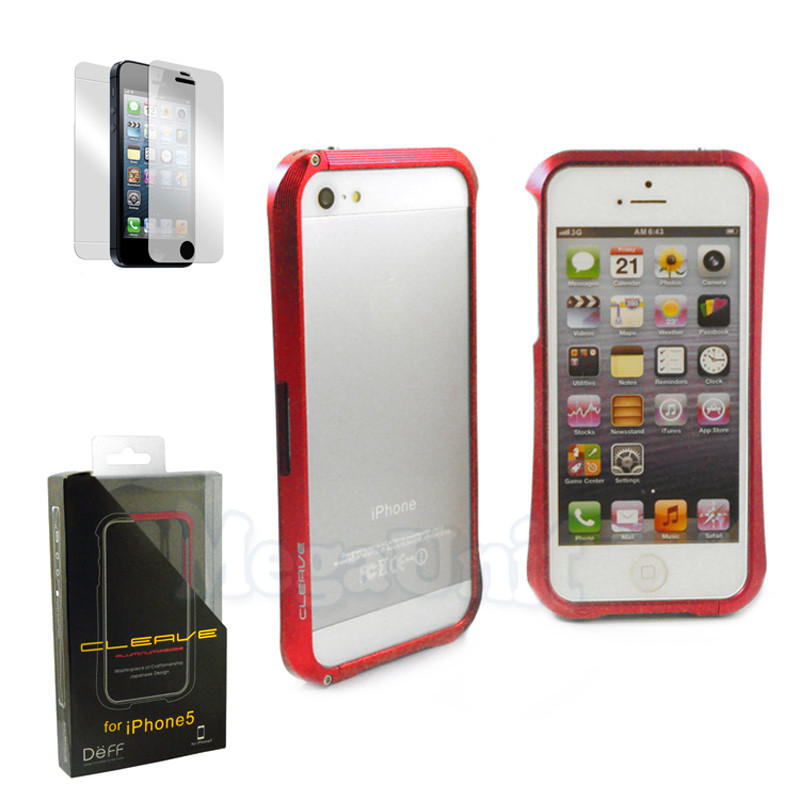 Deff Cleave чехол-бампер алюминиевый для Apple iPhone 5/5S/SE