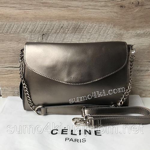 ab74bd2598eb Купить Кожаную женскую сумку Celine Селин оптом и в розницу в Одессе  интернет-магазина