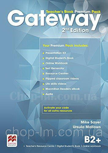 Gateway 2nd/Second Edition B2+ Teacher's Book Premium Pack (Edition for Ukraine) / Книга для учителя