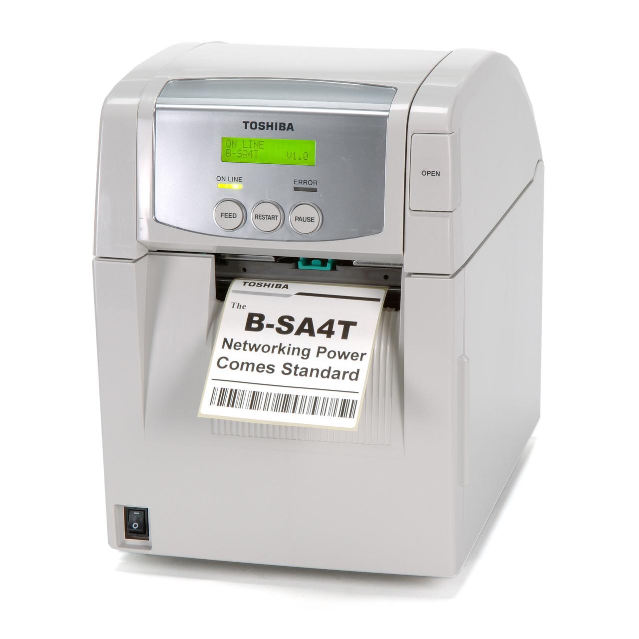 Принтер етикеток Toshiba B-SA4TP-GS12