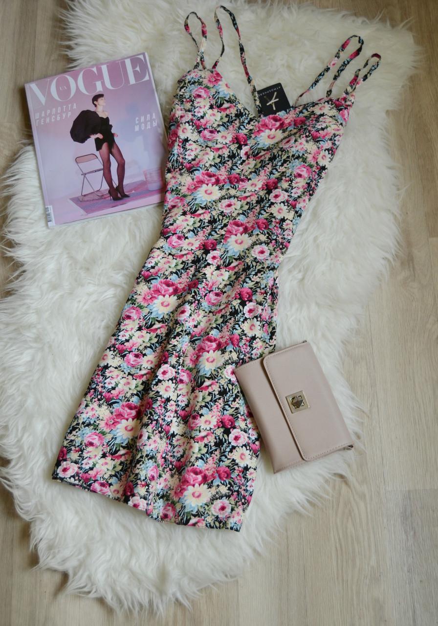 Новое цветочное платье на двойных бретельках Atmosphere