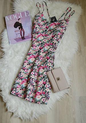 Новое цветочное платье на двойных бретельках Atmosphere, фото 2