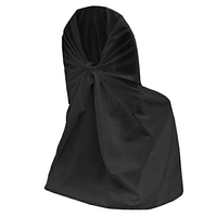 Аренда Чехол на стул черный универсальный