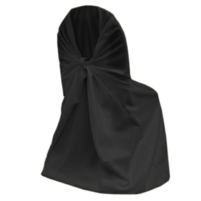 Чехол на стул черный универсальный