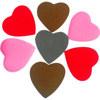 Конфетти сердечки, микс, 50 грамм
