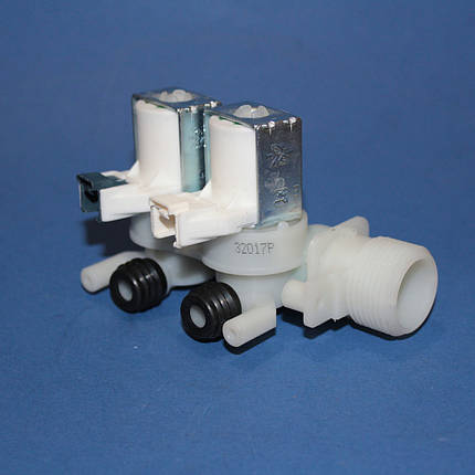 Клапан для стиральных машин впускной 2/90 Indesit, Ariston под фишку , фото 2