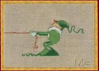 """Набор для вышивания крестом NIMUЁ """"Mic 3/Мик 3"""""""
