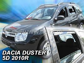 Дефлекторы окон (ветровики)  Renault Duster 2008-2018 (HEKO)