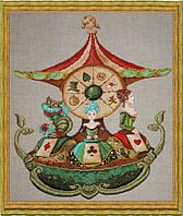 """Набор для вышивания крестом NIMUЁ """"Le Manège d'Alice/Карусель Алисы"""""""