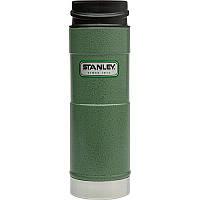 Термокружка Stanley Classic One Hand зеленая, 470 мл