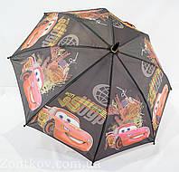"""Зонтик детский для мальчика с машинками на 4-8 лет то фирмы """"Max"""""""