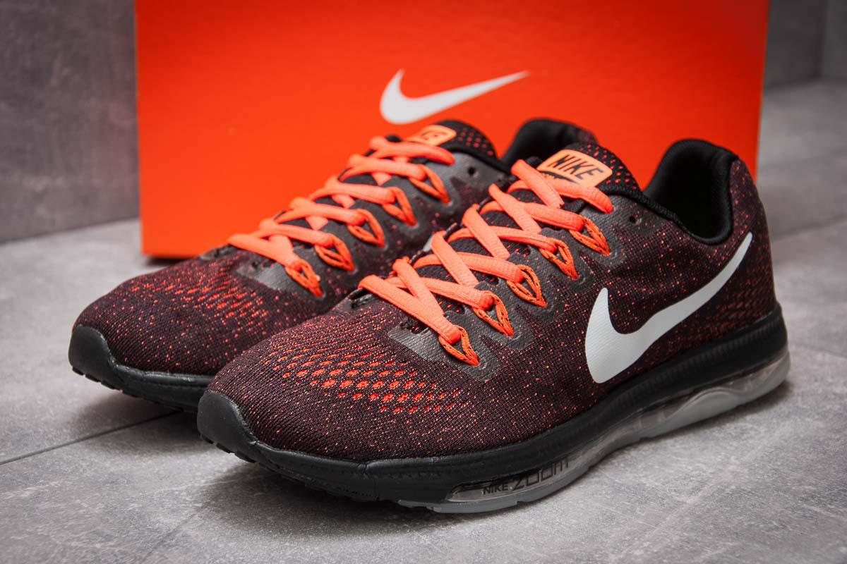 Кроссовки мужские в стиле Nike Zoom All Out, бордовые (12963),  [  41
