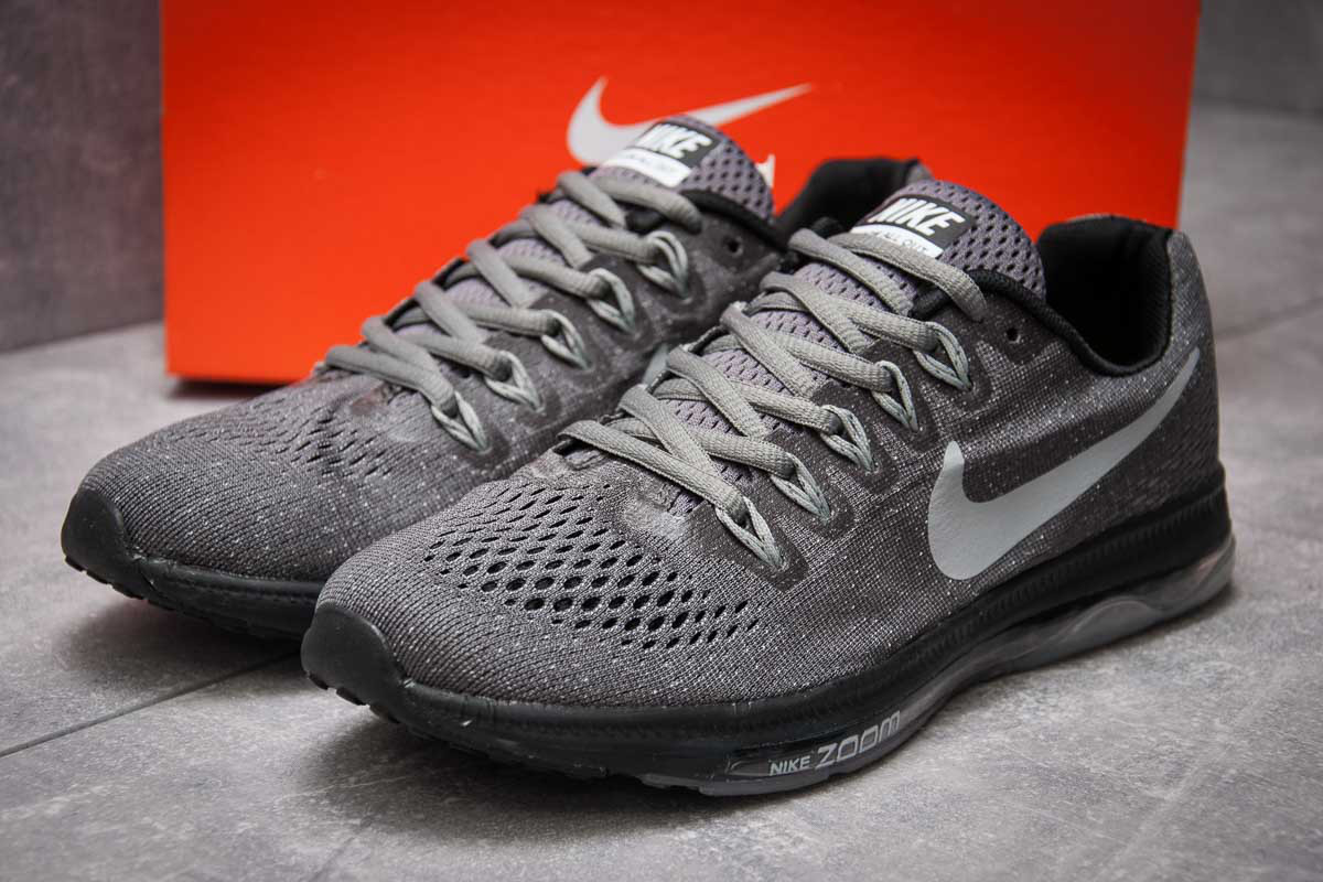 Кроссовки мужские Nike Zoom All Out, серые (12966), р. 41 - 45