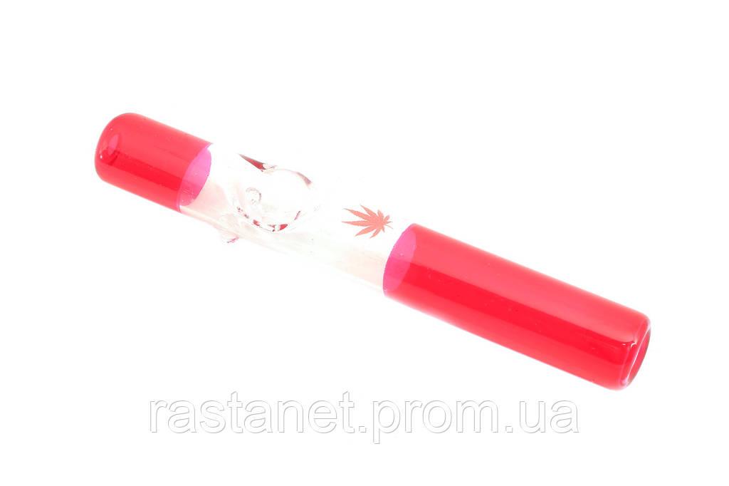 """Трубка  """"Лист Красная"""". 13 см."""