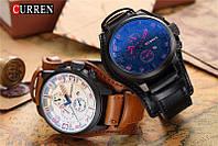 Мужские стильные наручные часы Curren 8225. Качественные красивые часы. Отличный подарок. Кварцевый механизм.